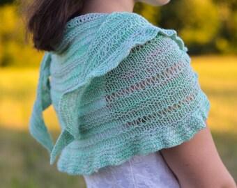 Viridescent Shawl | PDF knitting pattern