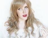 SALE Brown wig | Long Brown wig, Wavy brown blond wig | Natural brond wig | Gingerbread