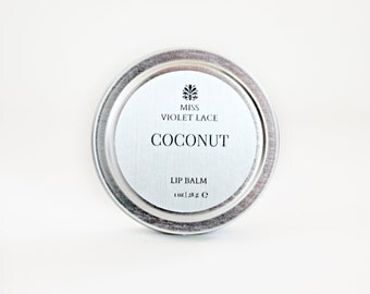 Coconut Lip Balm | 100% natural
