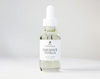 Coconut Vanilla Hair Oil | Vegan Hair Conditioner Oil | 100% natural