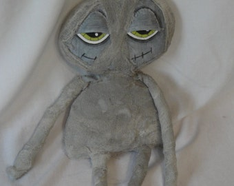 Halloween Mummy cloth doll, Monster Mummy doll, Halloween monster doll by Morning Mist Designs