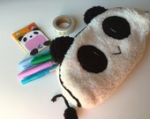 Panda Pencil Cosmetic Pouch Planner Supplies