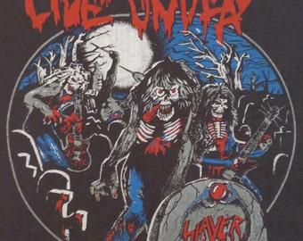 Original SLAYER vintage 1985 tour T SHIRT