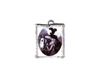 18th Century Horse and Rider Pendant