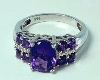 Lusaka Amethyst Ring