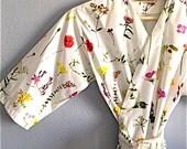 Bridesmaids Robes. Bridesmaid Robes. Bridal Robe. Bridesmaid Gift. Kimono Robe. Enchanted Garden.