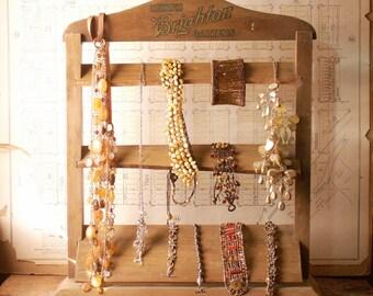 Vintage Brighton Garter Display Rack - Great Jewelry Display!
