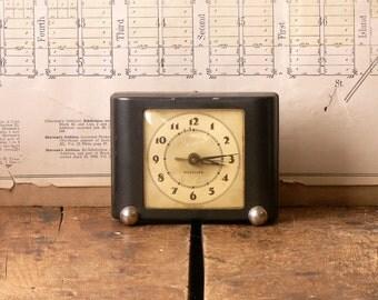 Vintage Westclox Ben Bolt Black Alarm Clock