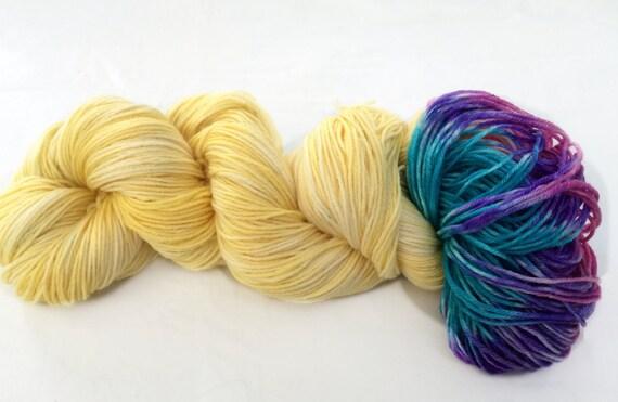 New! COLORSHOT Yarn, Merino Cashmere,Hand Dyed Sock Yarn, Hand Dyed, Merino, Knit,