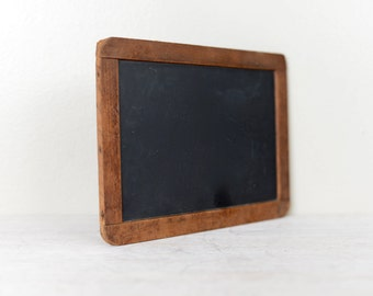 Antique Slate Schoolhouse Chalkboard