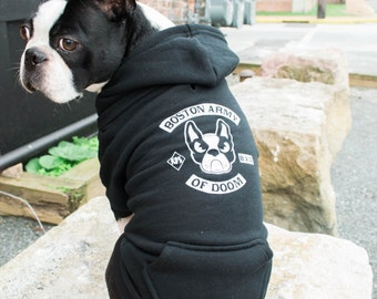 Boston Army of Doom Pup Hoodie / Available in M-L-XL