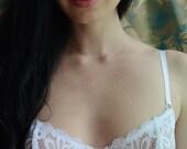 Women Sleepwear & Intimates Bras The Bridal Romantic White Lacey Underwire Bra MADE TO ORDER