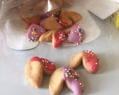 Doggy Fortune Cookies - Peanut Butter Dog Treats - Tiny Chinese Fortune Cookies for Dogs - Gourmet treats - All Natural - 60 cookies