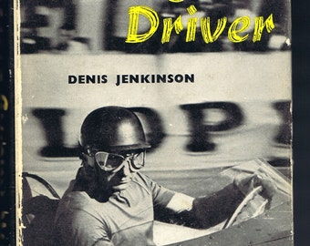 Antique Vintage Sixties Racing Driver Book by Jenkinson 1960 History Sports Automobile Car