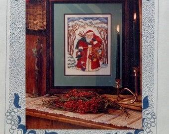 Cross Stitch Pattern | FATHER CHRISTMAS | Terrece Beasley Woodruff | Chapelle Designers