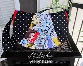 Rosie Shoulder Bag: Princess Print