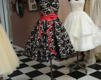 Size 8 to 10 Tea length formal gown