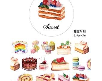 Sweet Cake Washi Tape (25mm X 5M)