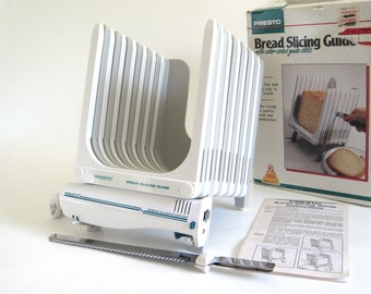 Presto Bread Slicing Guide & Bread Slicer Carving Knife 0382001 08610 Bread Slicing System