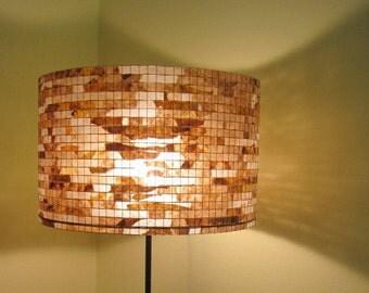 ON SALE - 15% Off - Lamp Lighting Coffee Art Lamp Floor Lighting Table Lamp Drum Lampshade Lampada Coffee Filter Art