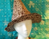 Witch Hat, Adult, purple, lavender, flowers, bohemian, boho, Halloween, Samhain, costume, lined hat, upcycled, sari silk, indian silk, wicca