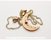 SAILOR V Crescent Sailor Moon Inspired Acrylic Phone Strap or Necklace for Mahou Kei & Magical Girl Fashion