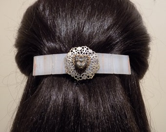 Barrette Extra Large/ Barrette for Thick Hair/ Cat Hair Barrette