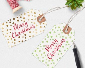 Christmas gift tags Printable, Christmas tags, handwritten gift tag, printable gift tags, digital download, Christmas Printable, wine tags