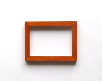 5x7 maple frame - glossy finish
