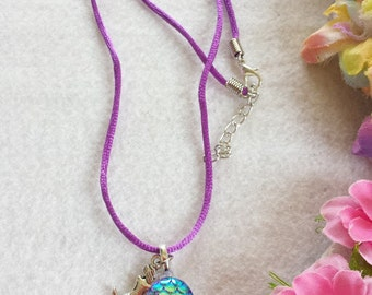 10 Mermaid Necklaces Party Favors