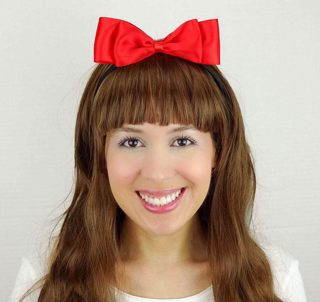 Snow White Headband Red Women S Halloween Costume Cute