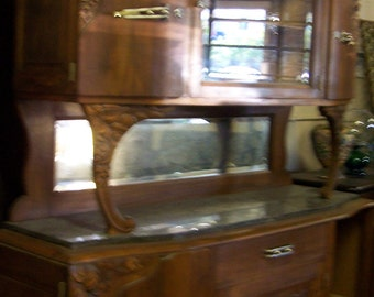 Art Decovintage French Deco Sideboardantiquevintage Sideboarddining Furniture