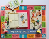 Vintage Mystery Date Board Game 1965