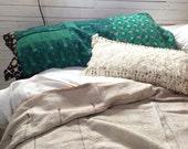 Body Pillow Cover, Kantha Pillow, Bohemian Bedding, Pregnancy Gift, Pregnancy Pillow