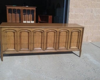 Retro Mid Century Modern Dresser, Server, media center, tv console, Pick YOUR COLOR pick up, local delivery