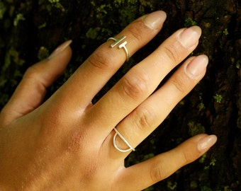 TYYNEYS Ring - sterling silver comfortable everyday minimalist ring, recycled eco silver
