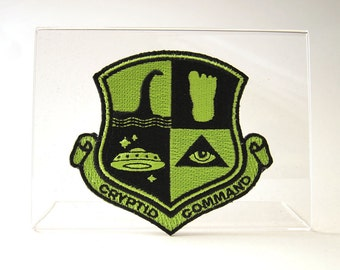 Cryptid Command Embroidered Patch