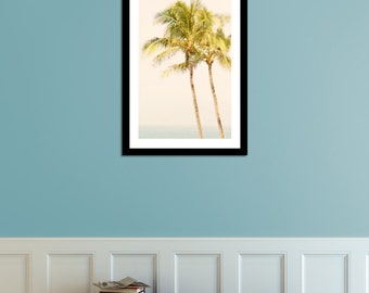 Palm Tree Photo Print for Palm Tree Décor 8x12 IN STOCK