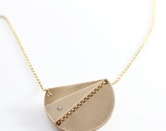 Arecibo Diorama Necklace
