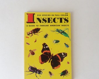 Insect Book, Pocket Size Book on Insects, Field Guide on Insect Identification