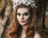 Sea Queen mermaid crown/tiara - siren - photoshoot - pageant - theatre - dance- runway - wedding - bridal - mermaid costume - fantasy.