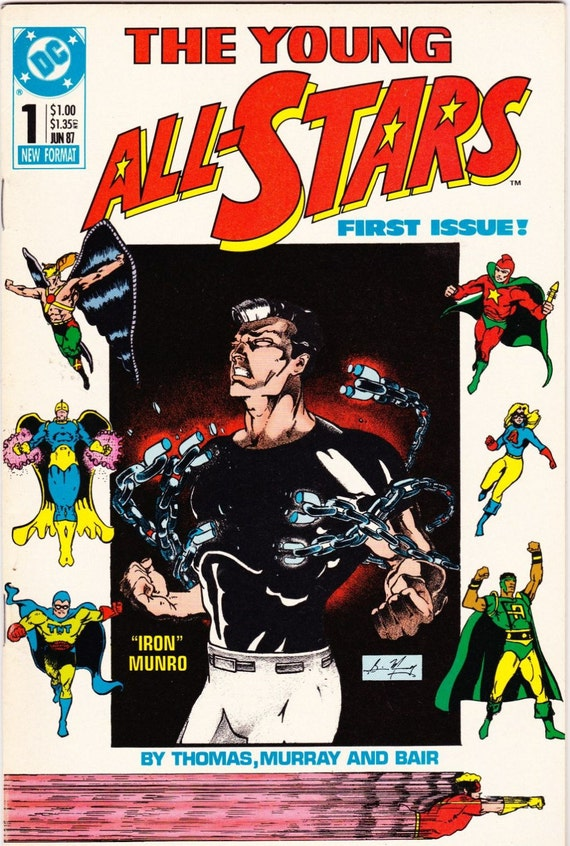 The Young All Stars Vintage Comic Book 1987 No 1 DC Comics