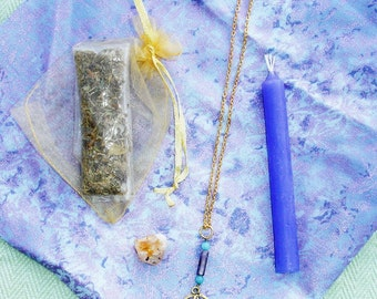 Wisdom Spell Kit with Token Necklace  - Everything You Need