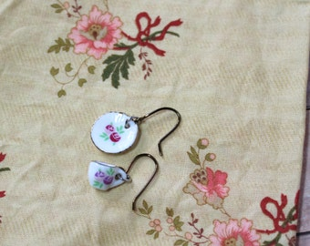 Blythe doll Earrings Cup and Saucer