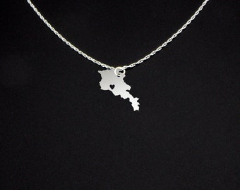 Armenia Necklace - Armenia Jewelry - Armenia Gift