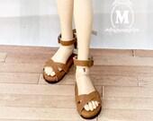 Handmade Leather slipper for Minifee, U-noa MSD.