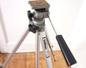 Vintage Velbon Tripod // Photography Camera Video Equipment
