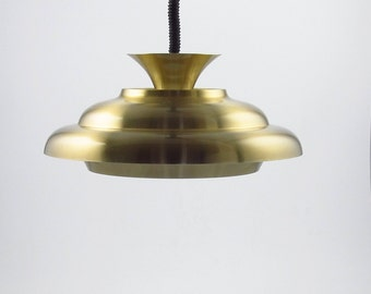 Dijkstra pendant lamp from the 1970s made in Holland, typical dutch design lamp from the seventies