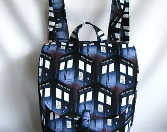 Small backpack- Dr. Who