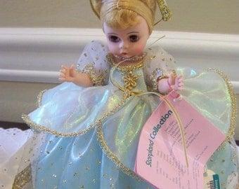 Cinderella in blue madame alexander 8 inch doll